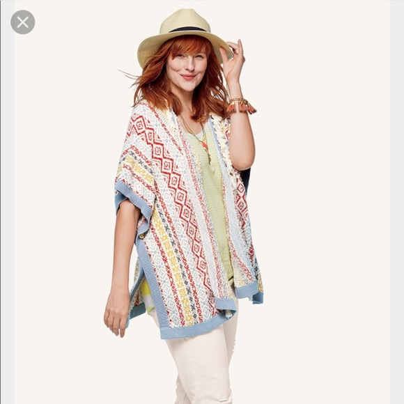 48% off CAbi Sweaters - Cabi siesta poncho. Excellent condition ...